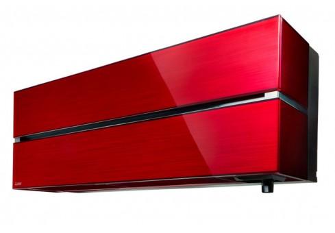Mitsubishi Electric Premium Ruby Red MSZ-LN25VGR-MUZ-LN25VG